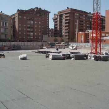 Impermeabilización de Parking de nueva construcción.